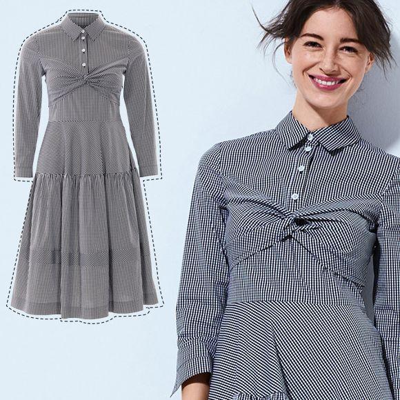 Грайлива клітинка  шиємо сукню-сорочку на осінь  ілюстрований курс з ... 0ba728ae674e8
