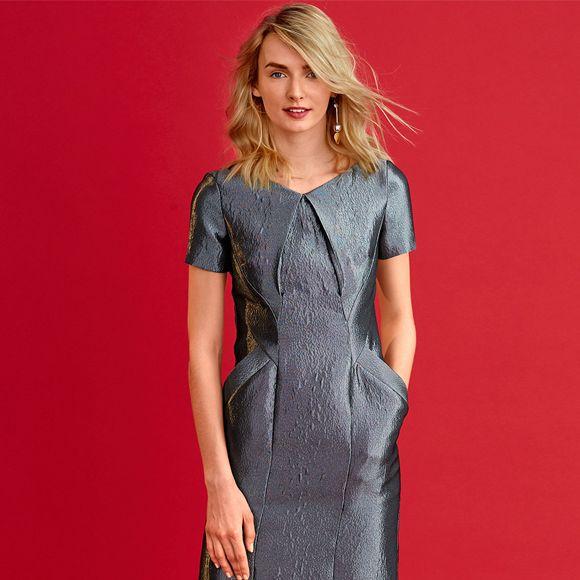 Купити ідеальну сукню-футляр від культового бренду Soky Soka лише за 2238  грн cdbbc1ee97c60