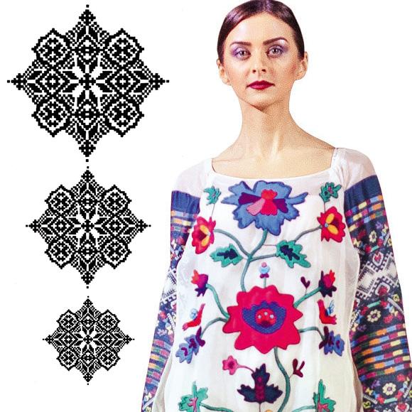Культурні коди  створюємо етнічну жіночу вишиванку  шиємо крок за ... 7ee5d591754ee