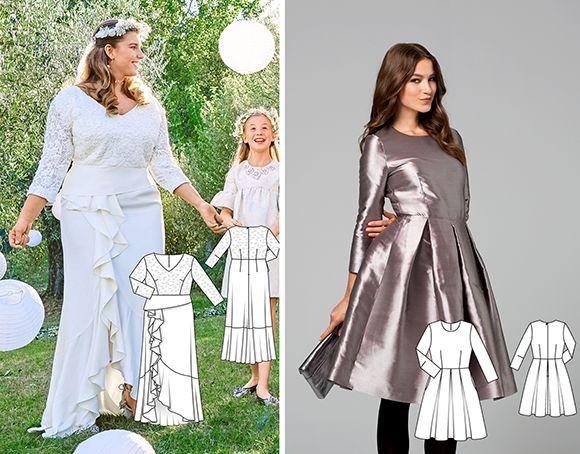 9a14a36b6d502c За основу взято викрійку ліфа сукні 120 з Burda 11/2012. Також підійде дещо  схожа модель 121 з цьогорічного номеру Burda 3/2018.