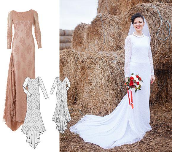 3c34aab4f0bb6f А ще з цією витонченою моделлю зі шлейфом щаслива наречена Надія перемогла  у конкурсі і отримала у подарунок дизайнерську сукню.