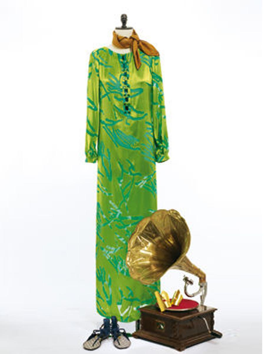 2afab8ebbe38fd Викрійка Сукня максі прямого крою з боковим розрізом: купити ...