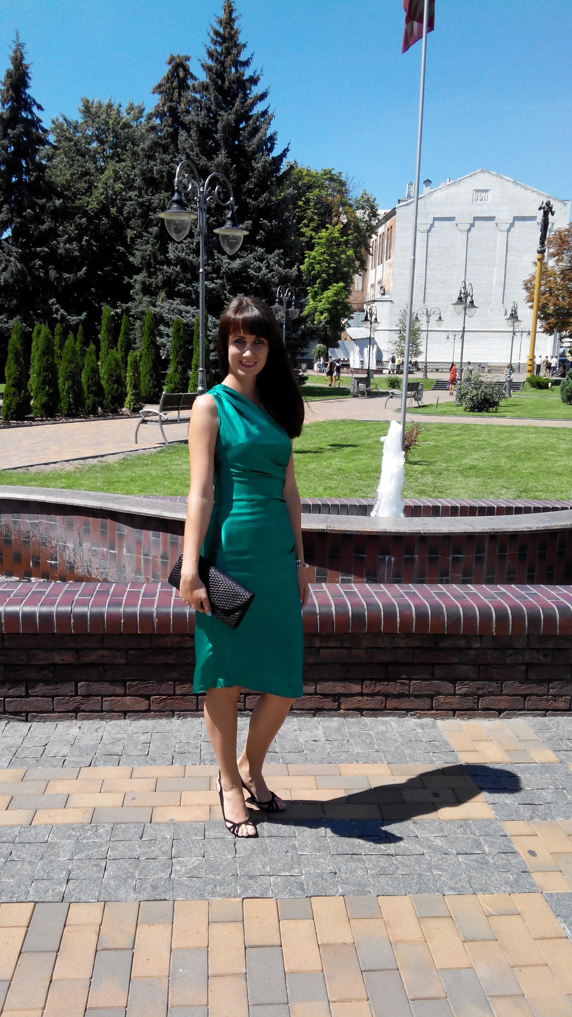 Моє смарагдове плаття  2b678558bd5a7