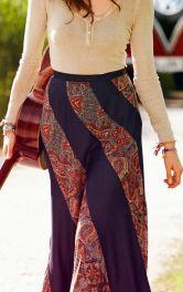 З чим носити спідницю в стилі хіпі?