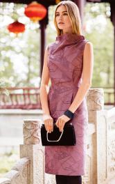 Сукня-футляр з вирізом на спинці