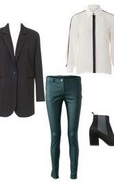 Як носити жіночий жакет в чоловічому стилі