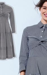 Як пошити сукню-сорочку на осінь
