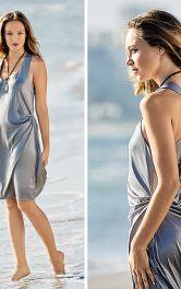 Як пошити трикотажну пляжну сукню