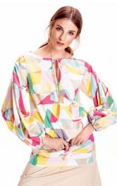 Як пошити стильну блузу з пишними рукавами