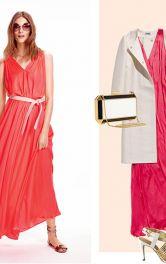 Стильні образи з шовковою максі-сукнею
