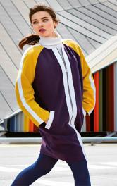 Покрокова інстукція з пошиття пальта в стилі колор-блокинг