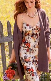 Як носити улюблену літню сукню взимку