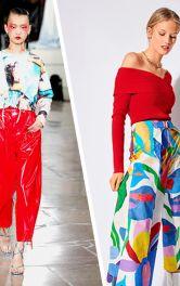 Кежуальний і спортивний одяг із абстрактними принтами