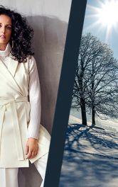 Як носити білий одяг взимку
