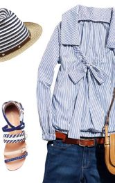 Одна блузка - три образи