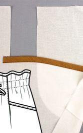 Як виконати кишеню з відрізним бочком із горизонтальним входом