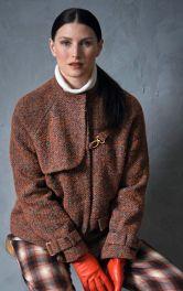 Шерстяний жакет на осінь замість куртки