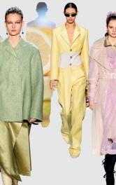 Одежда в пастельных тонах