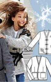 Шиємо теплий зимовий одяг для дітей