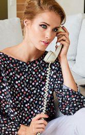 Технологія пошиття фігурної планки горловини блузки