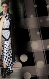Як носити влітку одяг із принтами горох і клітинка