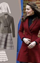 Капсульна колекція моделей Burda в стилі Кейт Міддлтон