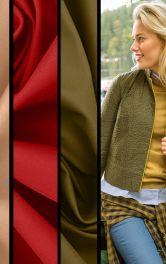 Цветовая палитра модного сезона осень-зима 2020-2021 в моделях Burda
