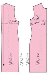 Як змінити викрійку під свій розмір. Частина 1