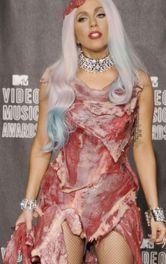 Леді Гага у «м'ясній» сукні