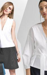 Модели Burda Style блузок рубашечного кроя