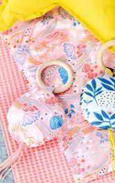 Як зробити іграшки-брязкальця з кільцем для малят