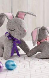 """Як пошити м'яку іграшку """"Великодній кролик"""""""