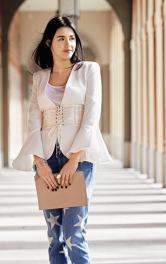 Як пошити модний пояс-корсаж