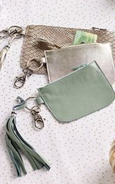 Як зробити шкіряний гаманець-ключницю власноруч