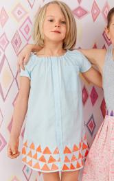 Шиємо сукню для дівчинки з чоловічої сорочки