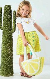 """Як пошити дитячу сумку """"Лимонна долька"""""""