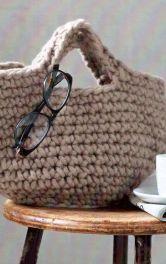 Як сплести гачком сумку-шопер з товстої пряжі