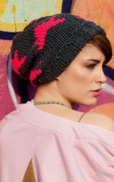 Як сплести на спицях модну шапку біні