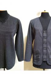 Як перетворити пуловер на стильний жакет