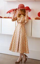 Жіноча сукня міді Burdastyle