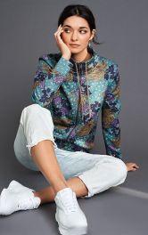 Жіночий трикотажний блузон Burdastyle