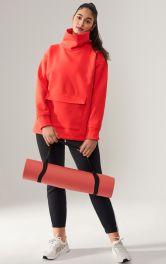Жіночий пуловер в спортивному стилі Burdastyle