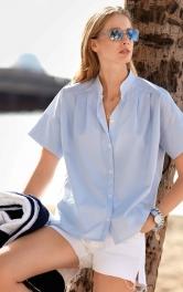 Жіноча блузка сорочка Burdastyle