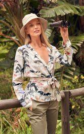 Жіноча блузка в стилі кімоно Burdastyle