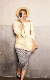 Жіноча блуза кармен Burdastyle