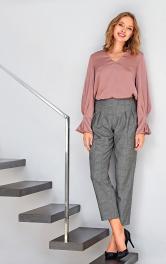 Жіноча блуза просторого Burdastyle