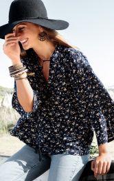 Жіноча блузка широкого крою Burdastyle