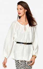 Жіноча блузка просторого крою Burdastyle