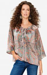 Женская блузка свободного кроя Burdastyle