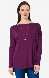 Жіночий пуловер просторого крою Burdastyle